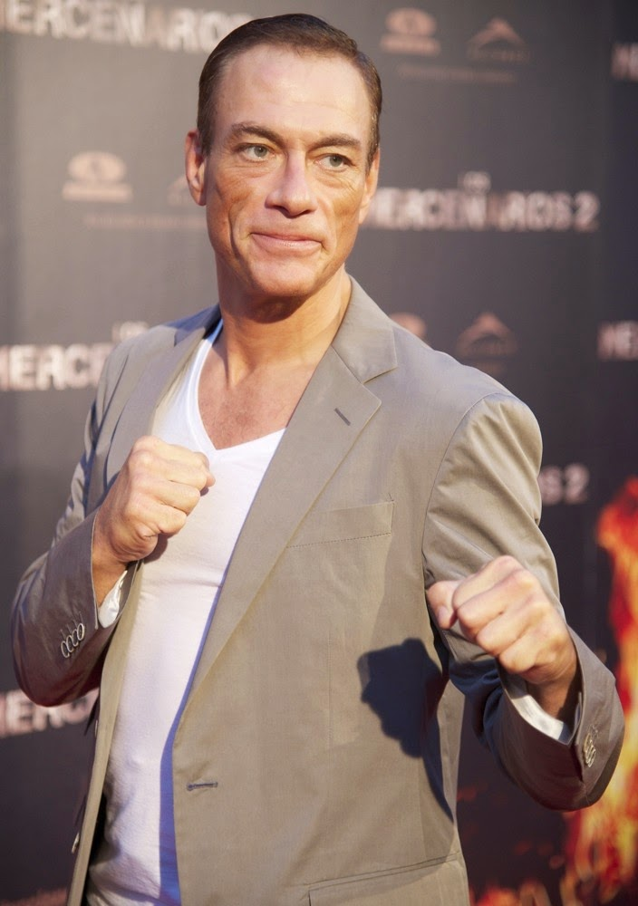 jean claude van damme spanish premiere the expendables 2 02